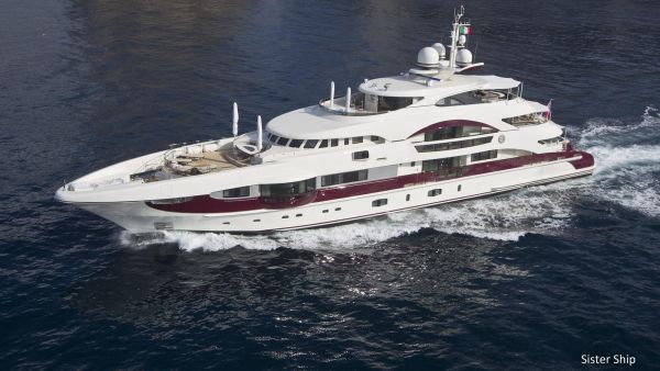 QUITE ESSENTIAL yacht for sale  Length 55 metres G