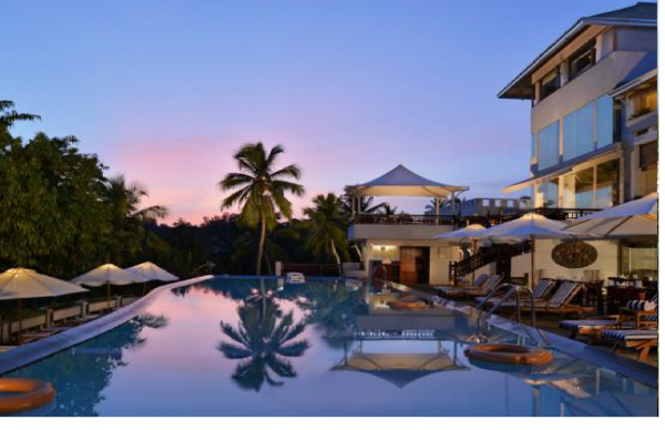 5 STAR LUXURY RESORT FOR SALE ON KOVALAM BEACH IN