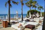 Beach Front Restaurant in Marbella Build Size: 580