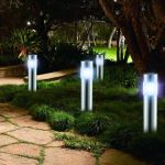 Bargain price 1x Set solar garden lamp, consists o